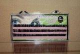 Шелковые ресницы J-изгиб в кассете